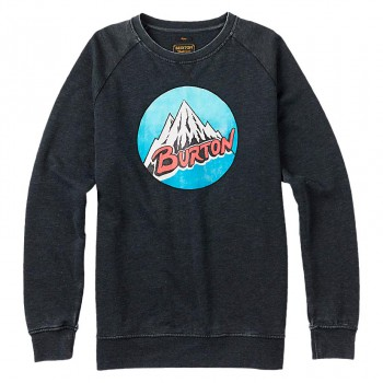 Mikina Burton Retro Mountain Crew