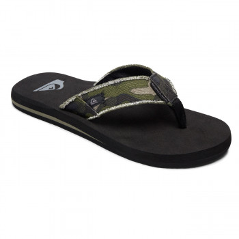 2d8fba2de0fb8a Flip-Flops Quiksilver Monkey Abyss green brown black
