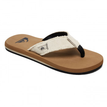 6828fafea110 Flip-Flops Quiksilver Monkey Abyss grey brown blue
