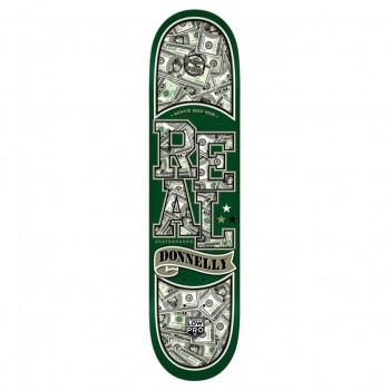 Skate doska Real Donnelly Bnkrll 8.18