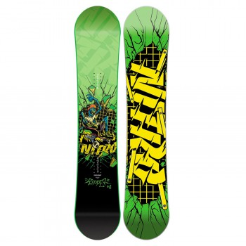 Snowboard Nitro Ripper Kids Green
