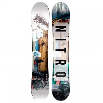 Snowboard Nitro Team Exposure Gullwing