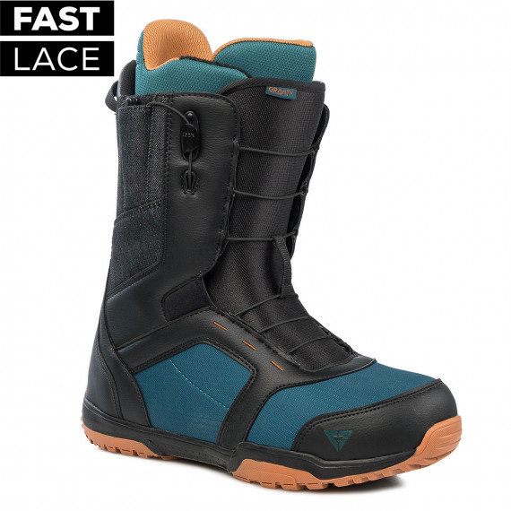 Gravity Recon Fast Lace black/blue/rust 2019/2020