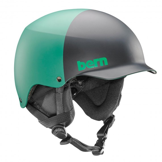 Bern Team Baker matte hunter green 2-tone 2016/2017