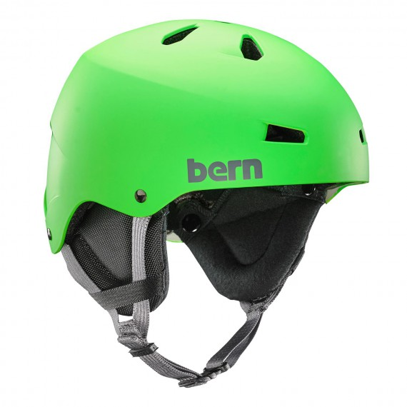 Bern Team Macon matte neon green 2017/2018