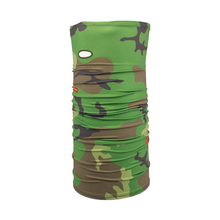 Nákrčník Airhole Drylite woodland camo