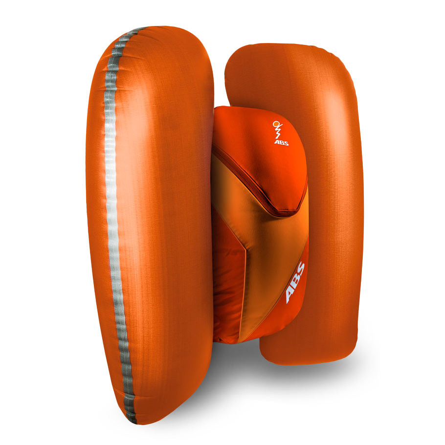 Batoh ABS Vario Base Unit-L red/orange