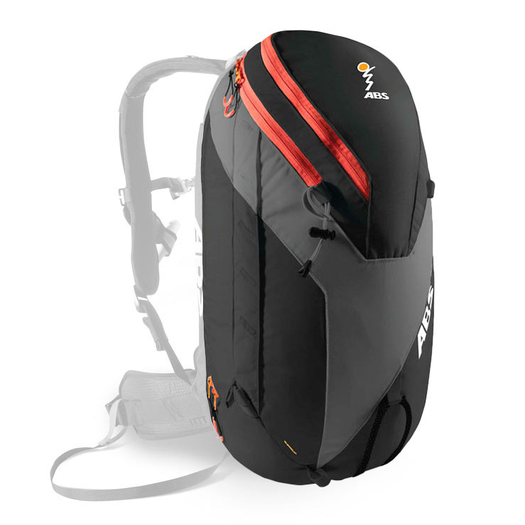 Batoh ABS Vario Zip-On 32L black/orange