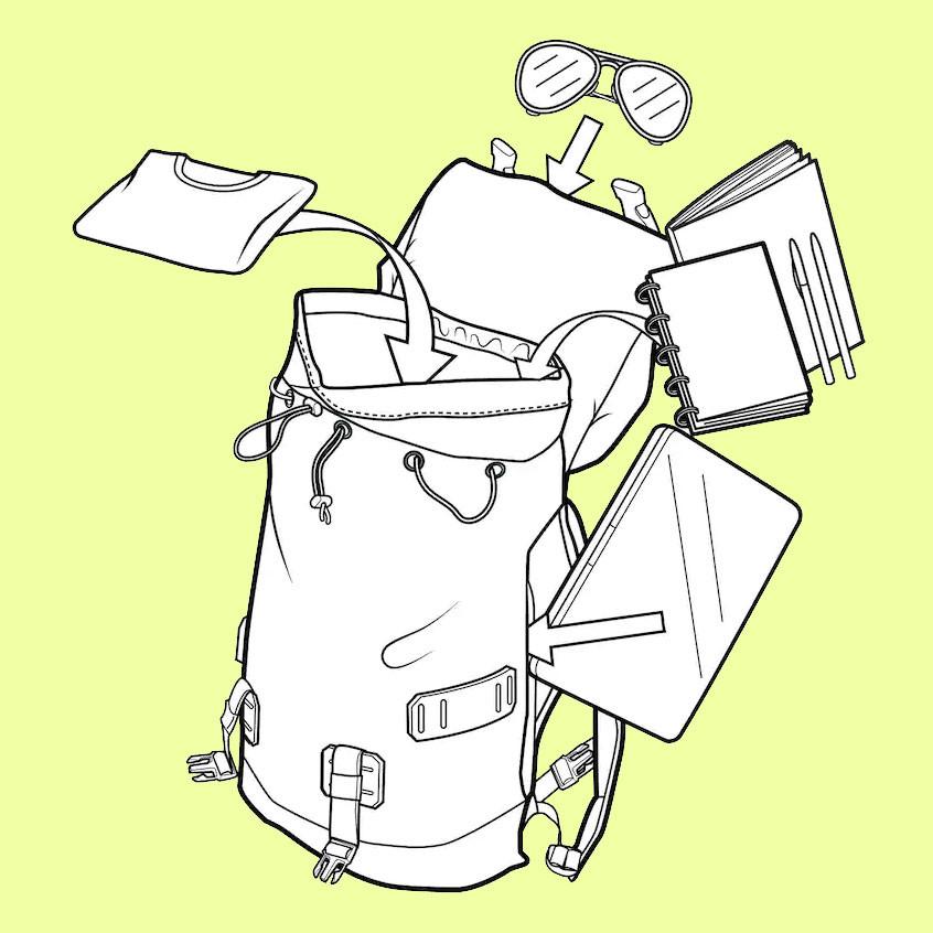 Backpack Burton Tinder