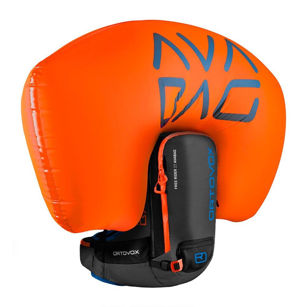 Batoh na snowboard Ortovox Free Rider 22 Avabag Kit black anthracite vel.22L 16/17 + doručení do 24 hodin