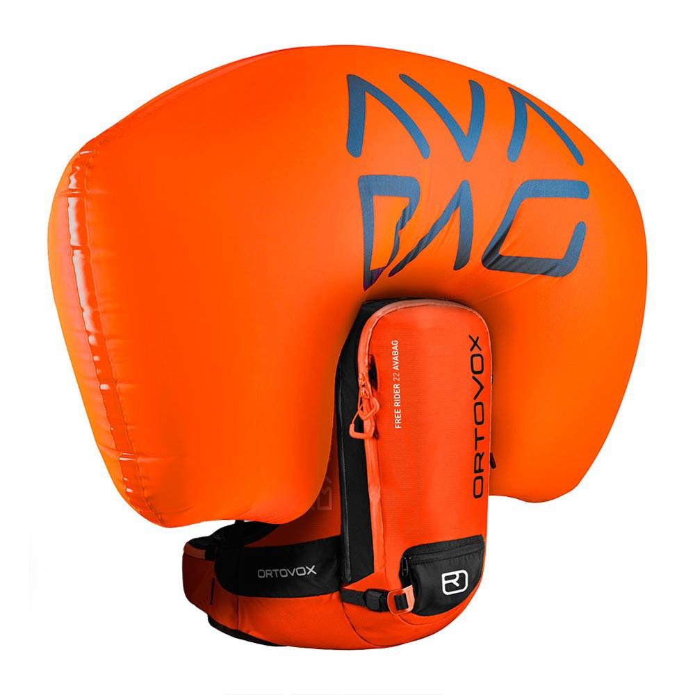 Batoh na snowboard Ortovox Free Rider 22 Avabag Kit crazy orange vel.22L 16/17 + doručení do 24 hodin