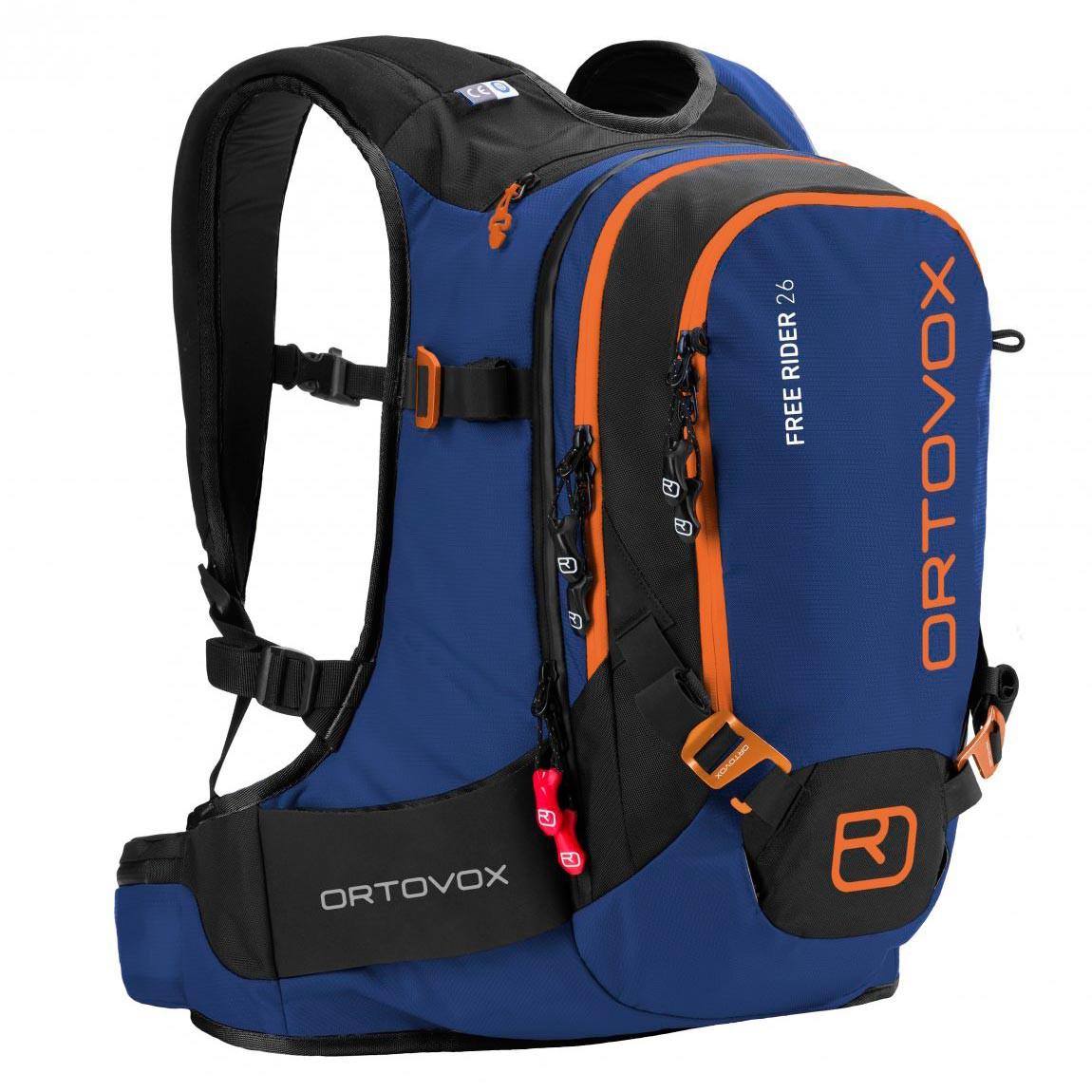 Batoh na snowboard Ortovox Free Rider 26 strong blue vel.26L 16/17 + doručení do 24 hodin