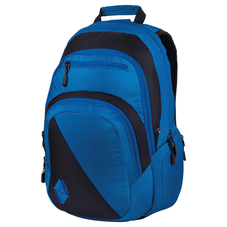 Batoh Nitro Stash blur briliant blue