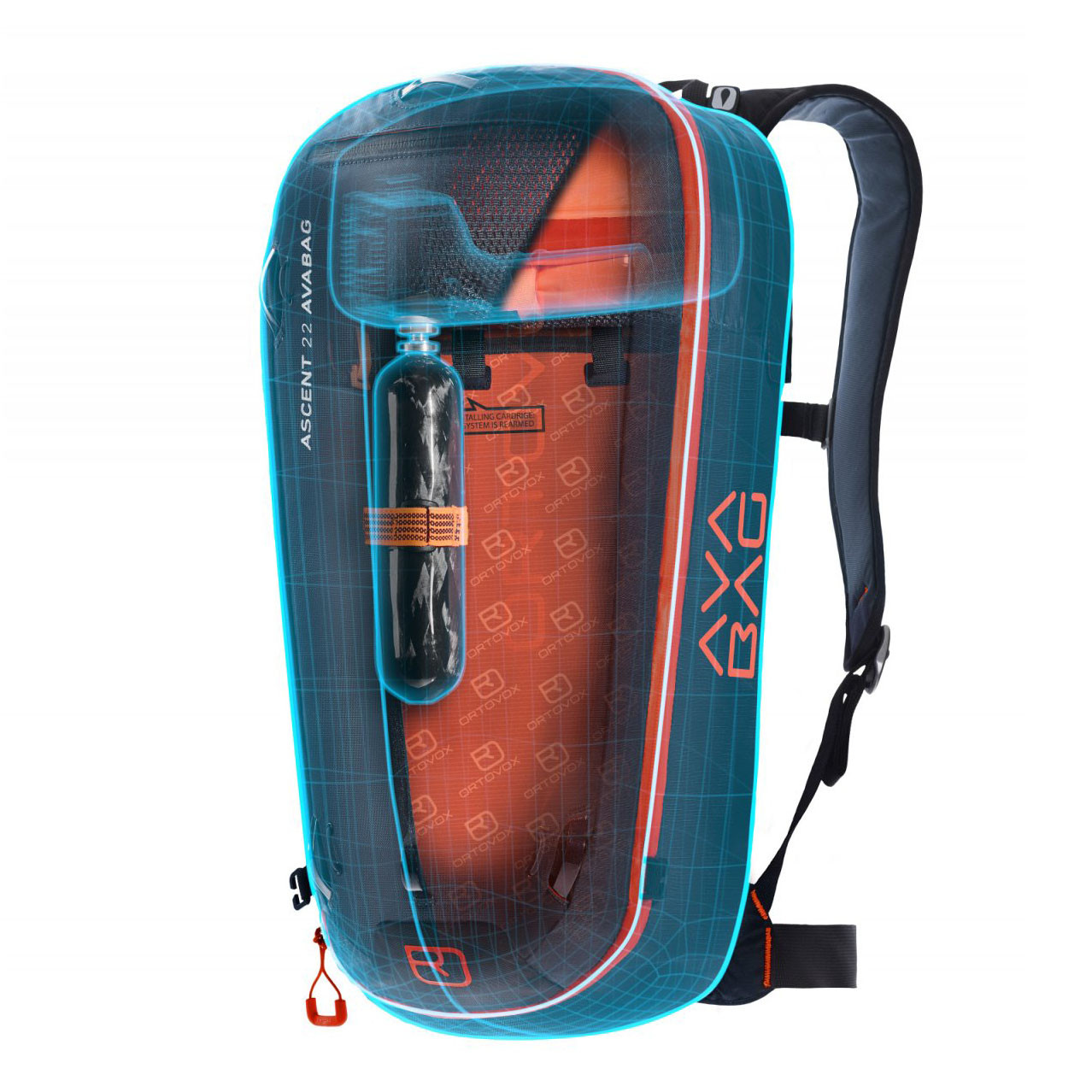 Batoh Ortovox Ascent 30 Avabag Kit