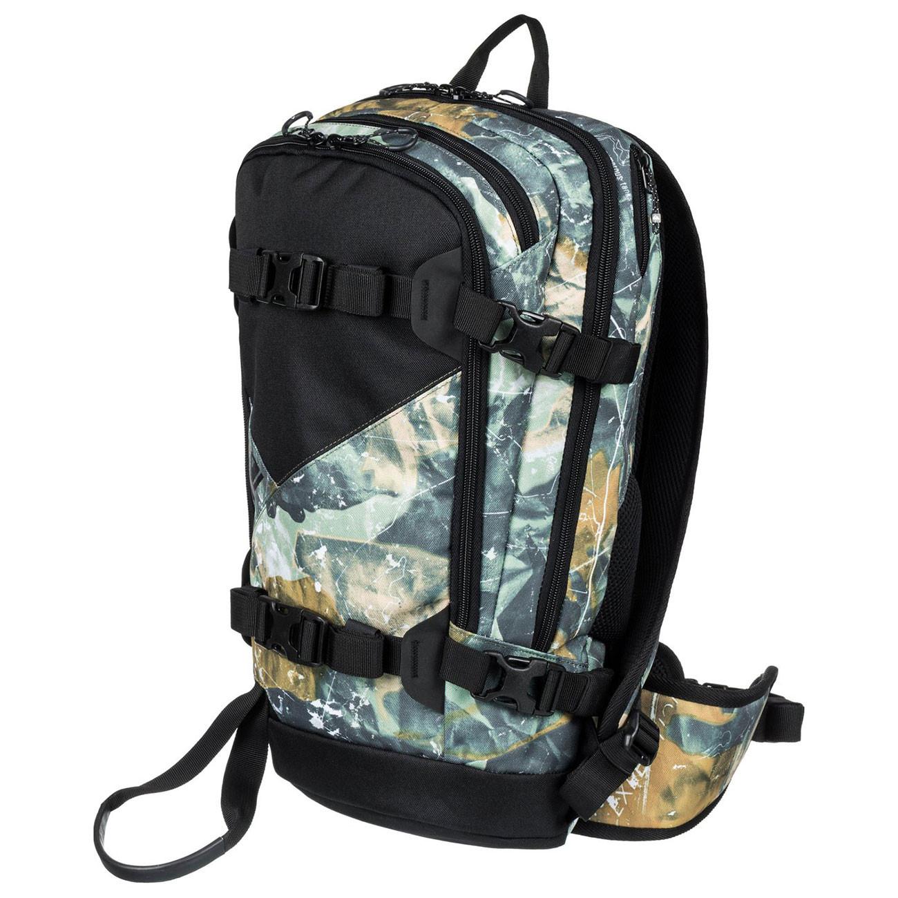 359f9686281c6 Snowboard backpack Quiksilver Oxydized 16L grape leaf tanenbaum ...
