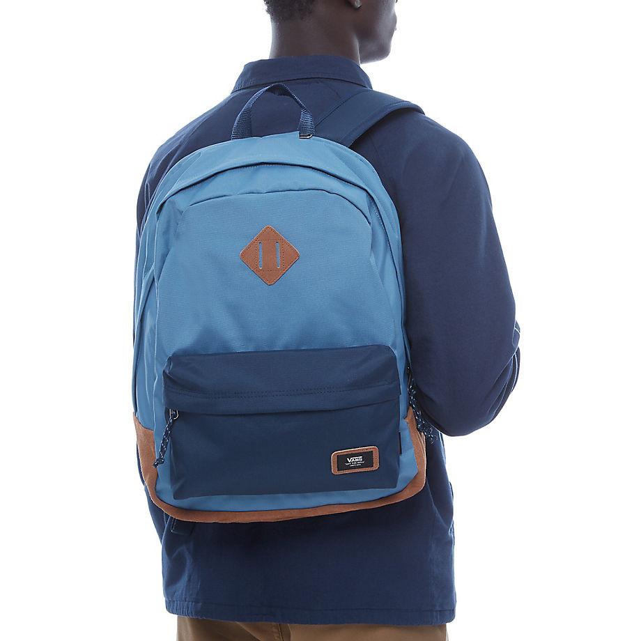 Backpack Vans Old Skool Plus copen blue dress blues  0315a67df