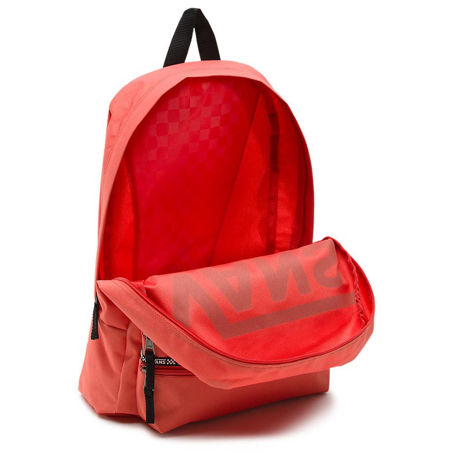 vans backpack coral