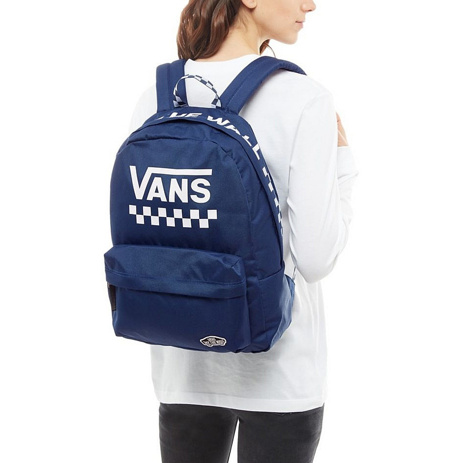 7ad3abc26746d Backpack Vans Sporty Realm medieval blue too much fun | Snowboard Zezula