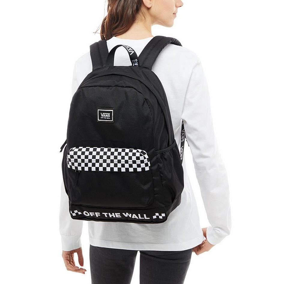 16ebc13bd2 Backpack Vans Sporty Realm Plus black