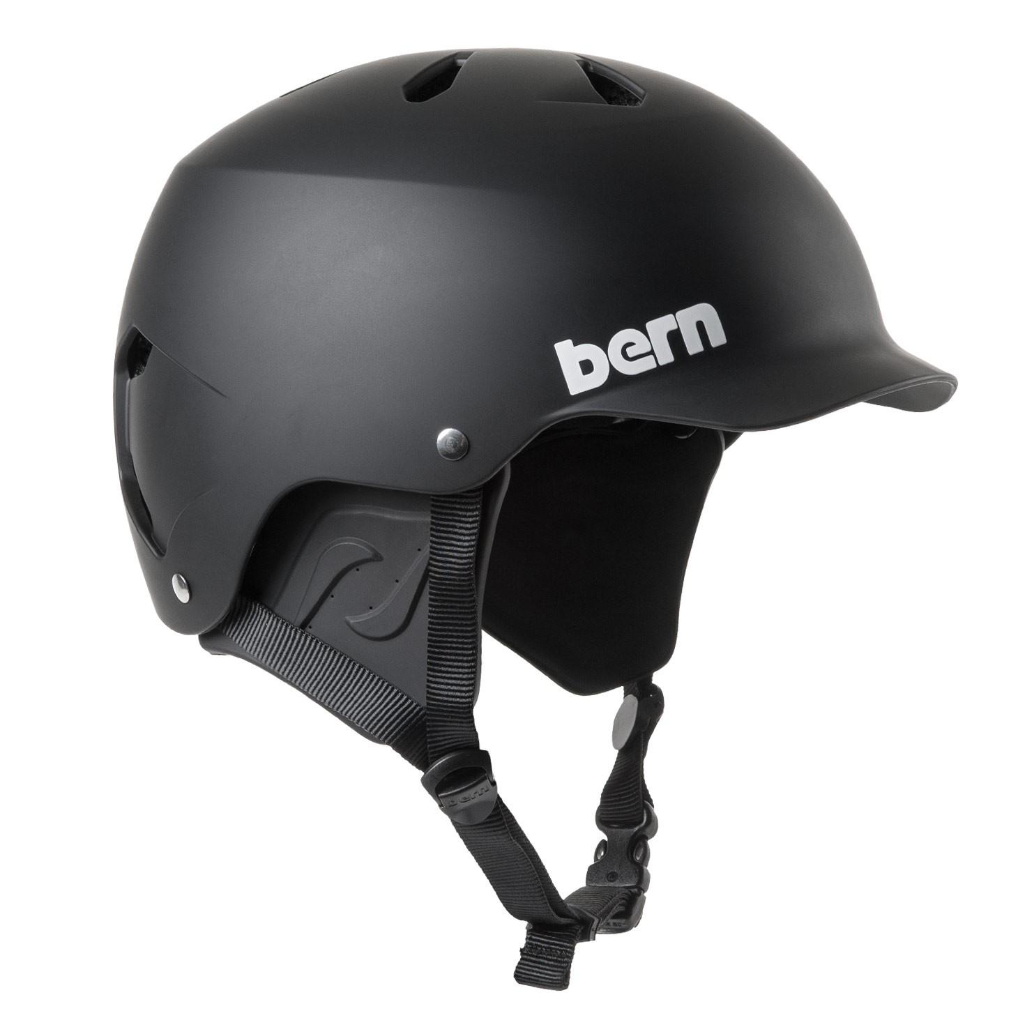 Bern Watts H2O matte black