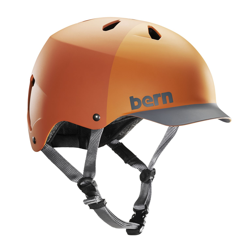 Helma Bern Watts H2O matte orange hatstyle