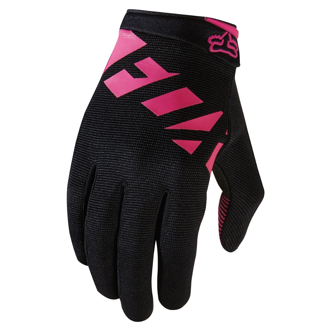 Bike rukavice Fox Womens Ripley black/pink