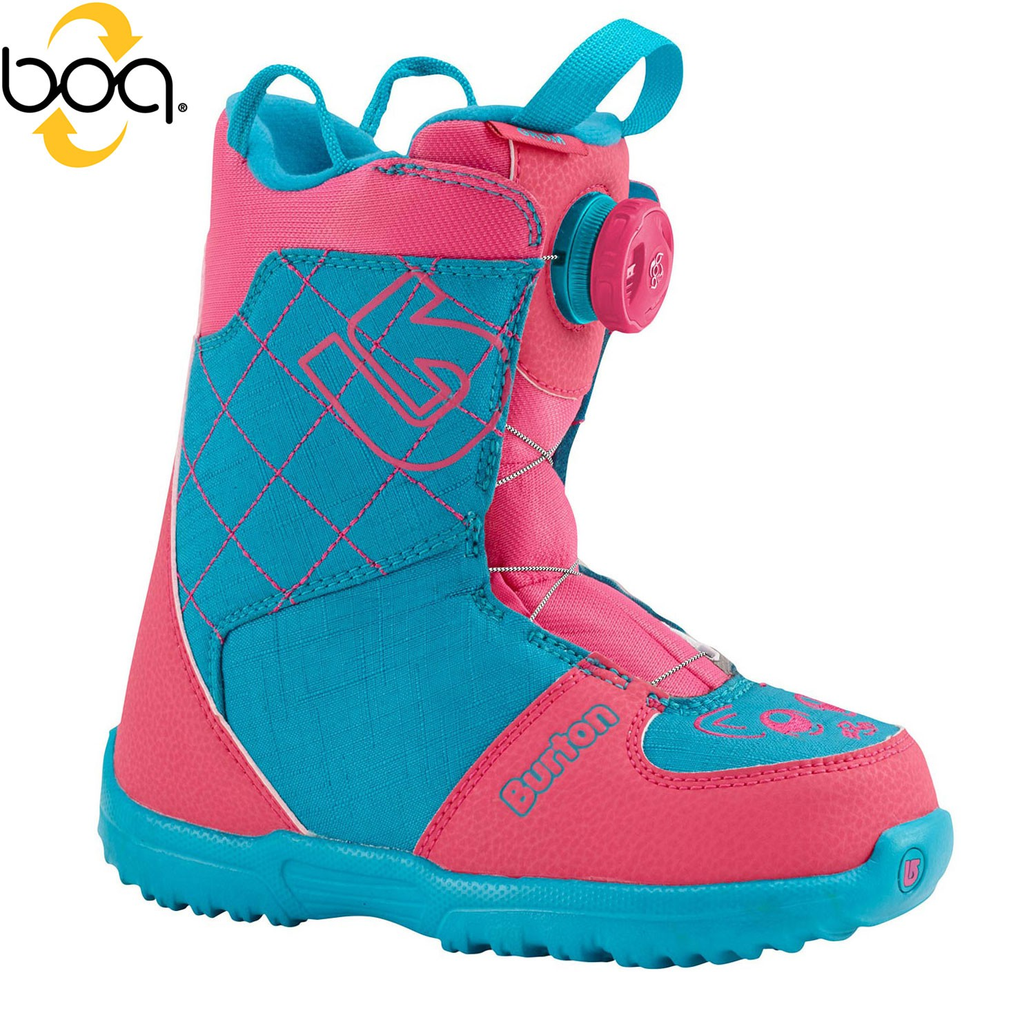 Boty Burton Grom Boa pink/teal