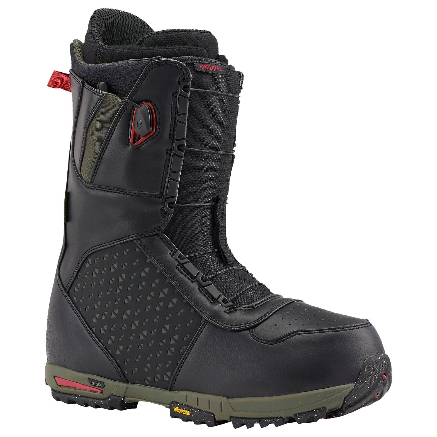 Boty Burton Imperial black/green/red