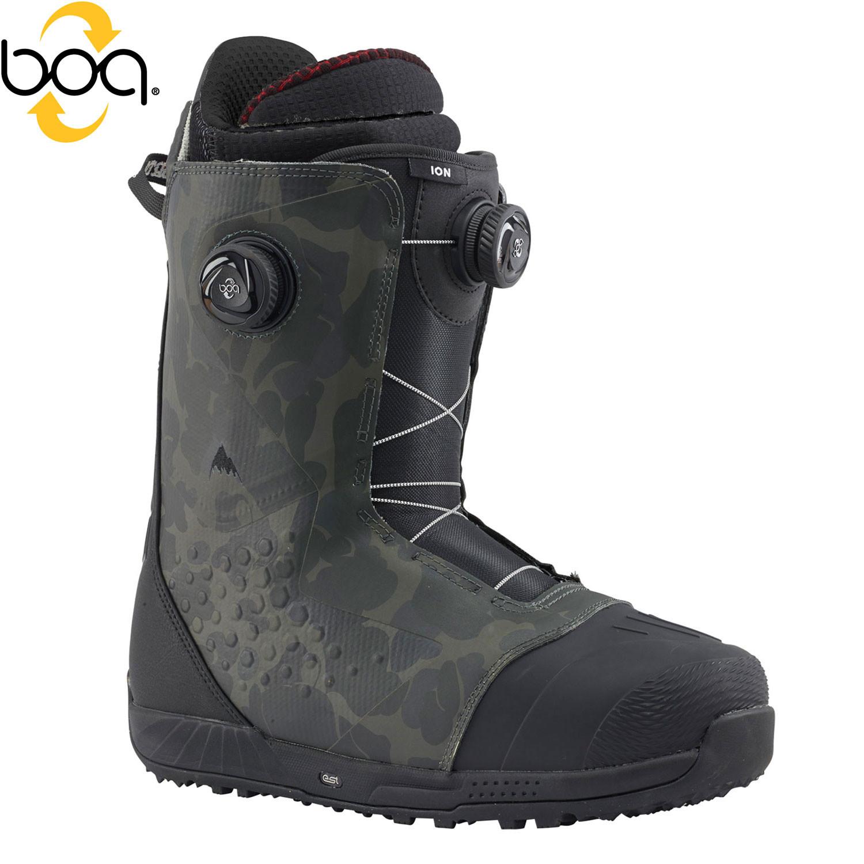 Boty Burton Ion Boa black/camo
