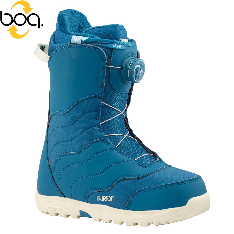 Boty Burton Mint Boa blue