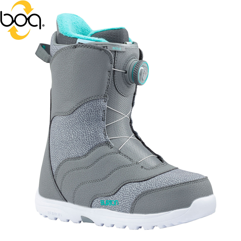 Boty Burton Mint Boa grey
