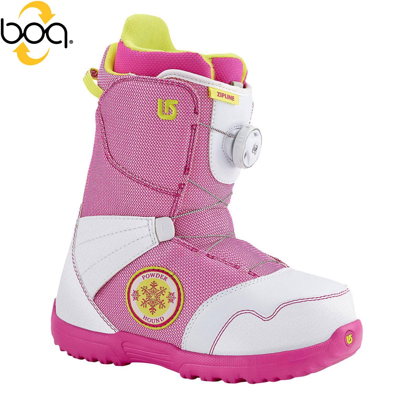 Boty Burton Zipline Boa white/pink