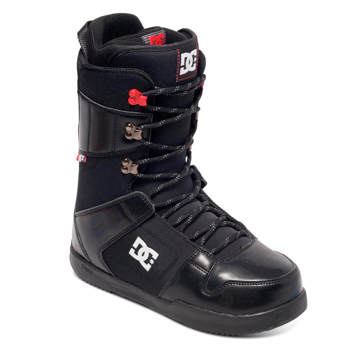 Boty DC Phase black/red