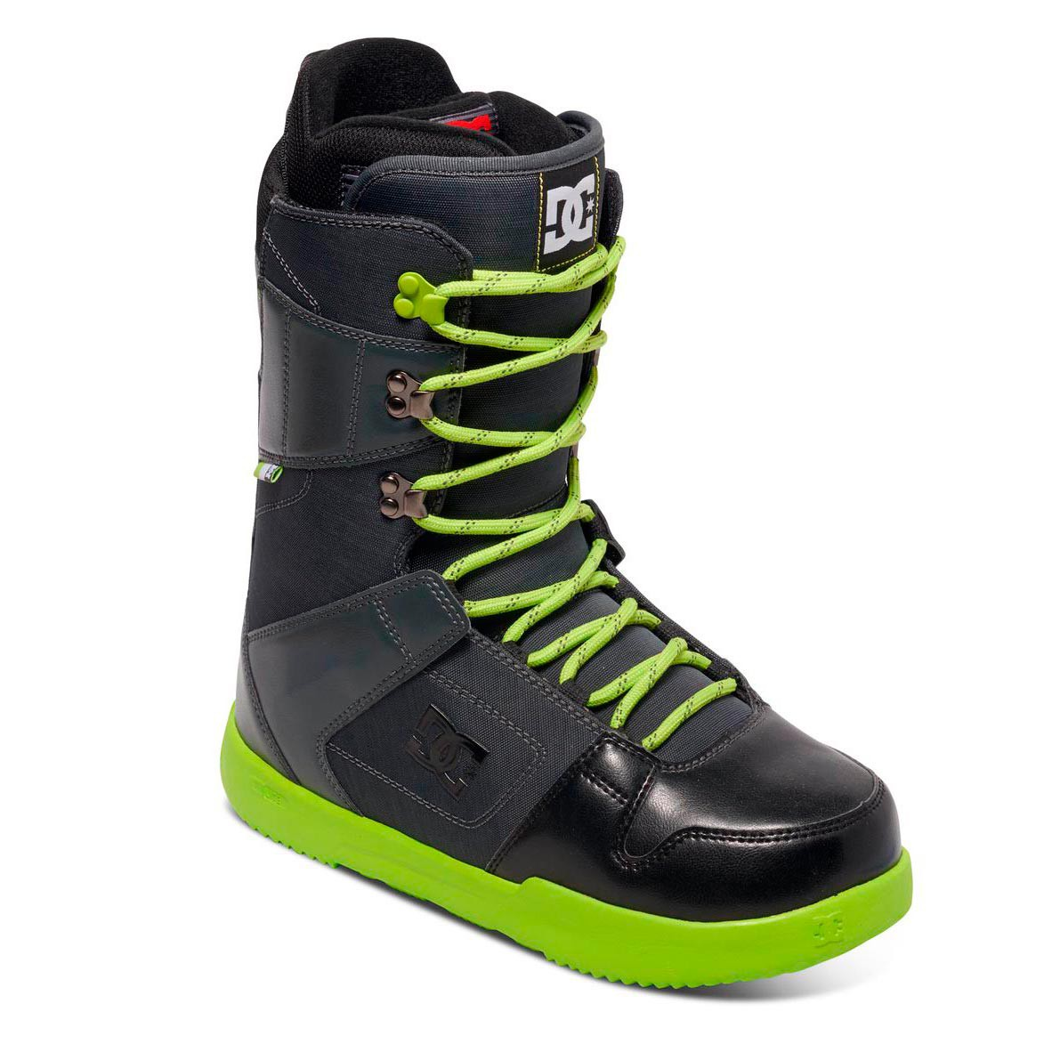 Boty DC Phase dark shadow/black/lime