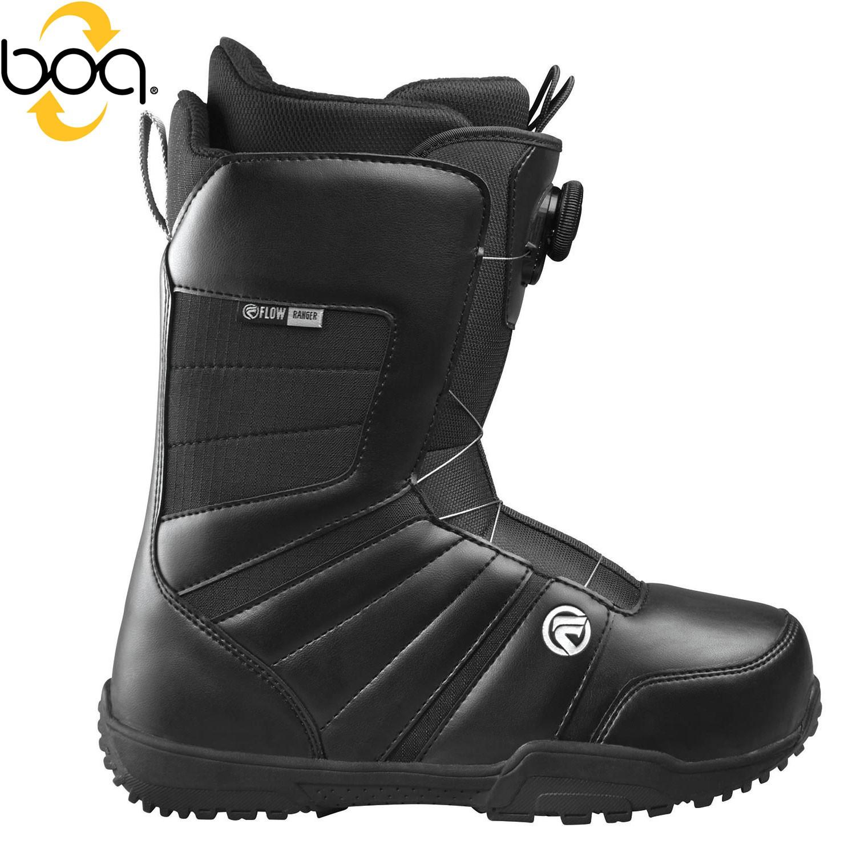Boty Flow Ranger Boa black vel.6 (39,5) 16/17 + doručení do 24 hodin