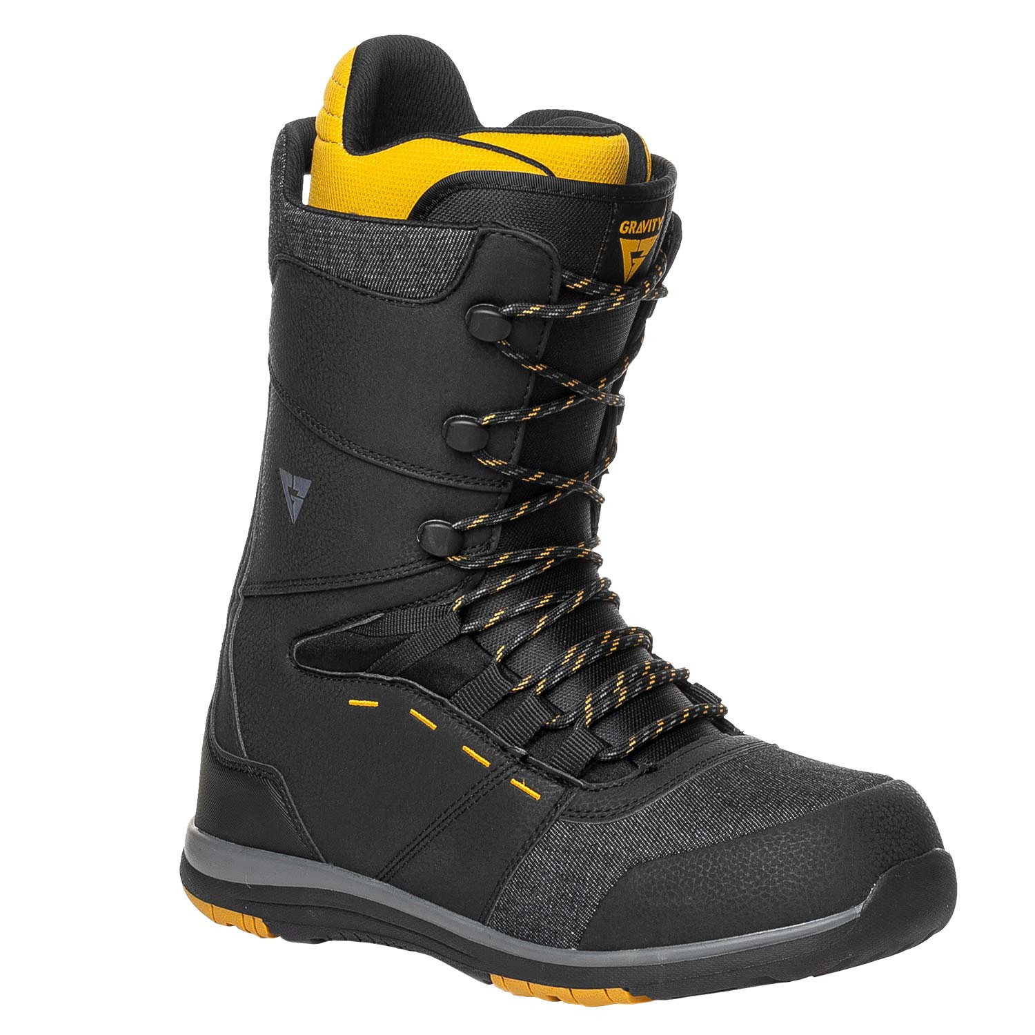 Boty Gravity Manual black/yellow