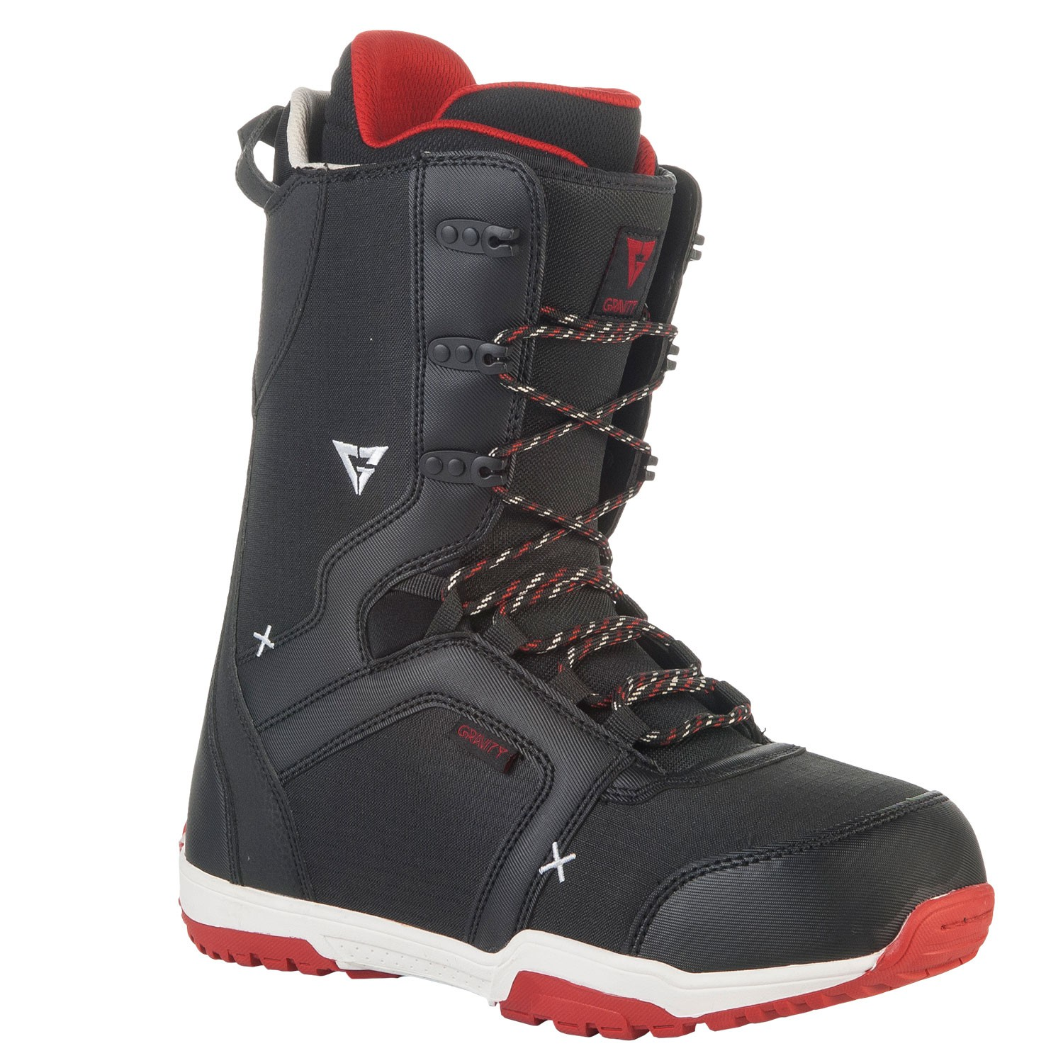 Boty Gravity Recon black/red