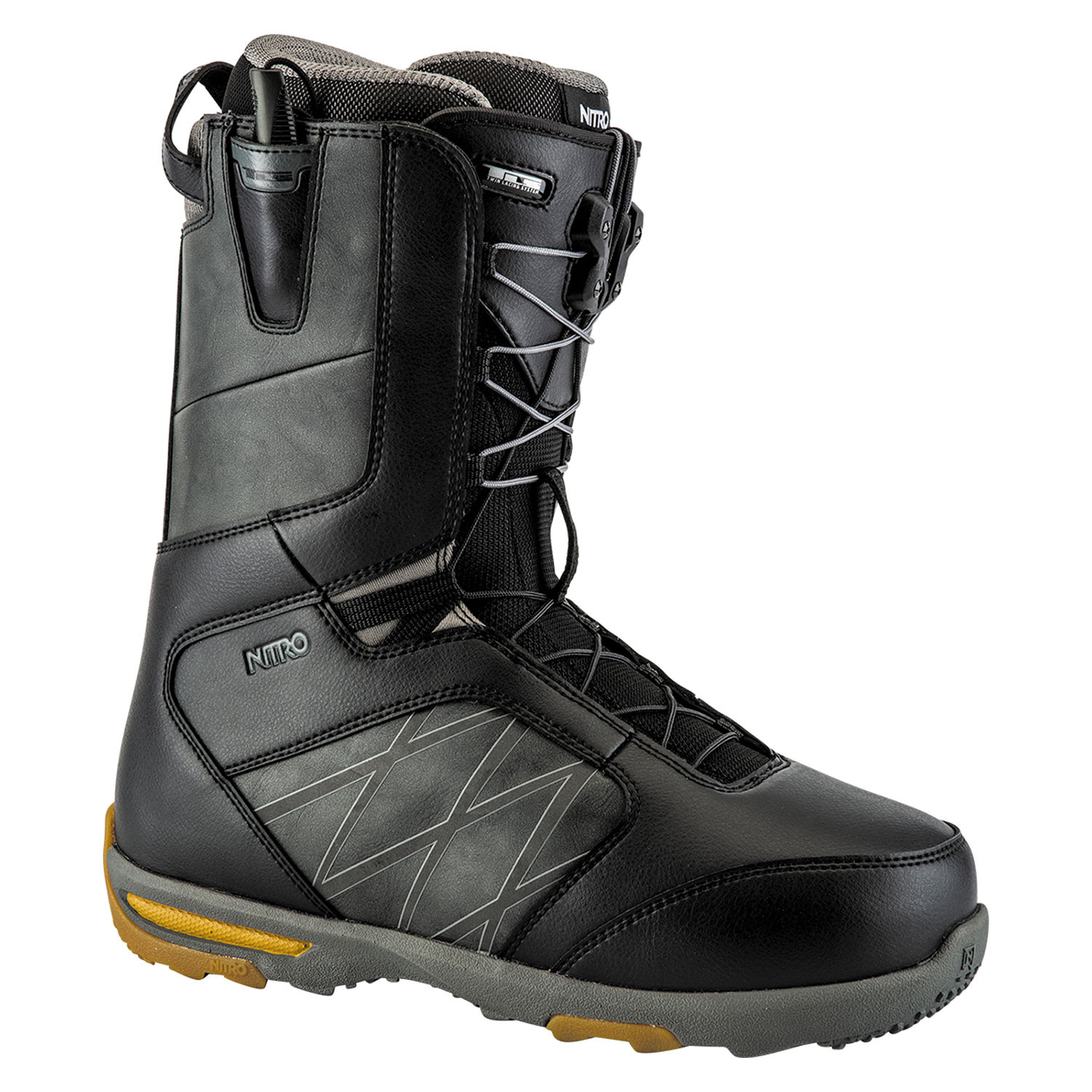 Boty Nitro Anthem Tls black/charcoal