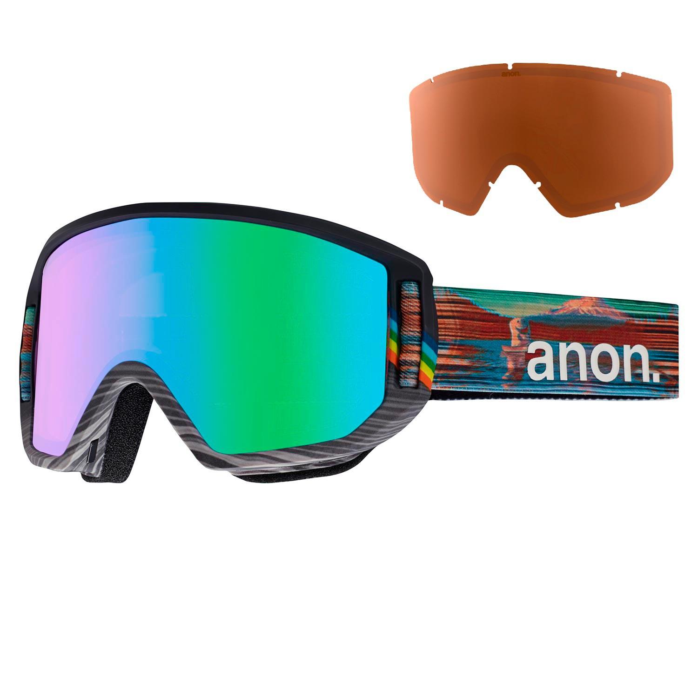 Brýle Anon Relapse hcsc vel.GREEN SOLEX+AMBER 16/17 + doručení do 24 hodin