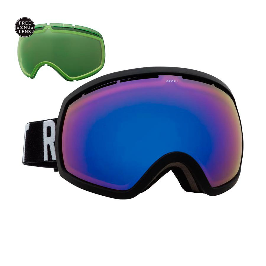 Brýle Electric Eg2 matte black/wordmark vel.BROSE/BLUE CHROME+LIGHT GREEN 16/17 + doručení do 24 hodin