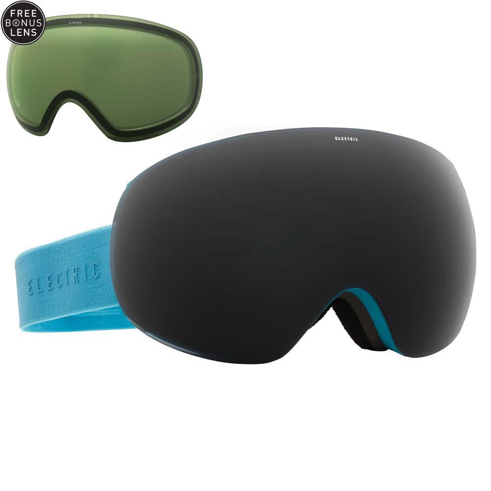 Brýle Electric Eg3 light blue vel.JET BLACK+LIGHT GREEN 15/16 + doručení do 24 hodin