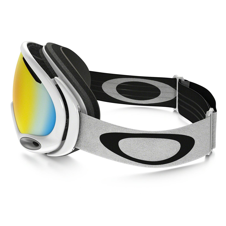Goggles Oakley A Frame 2.0 polished white | Snowboard Zezula