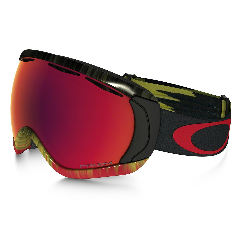Brýle Oakley Canopy wet dry fire green