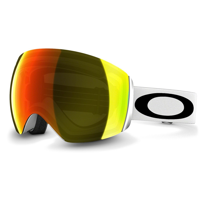 Brýle Oakley Flight Deck matte white vel.FIRE IRIDIUM 16/17 + doručení do 24 hodin