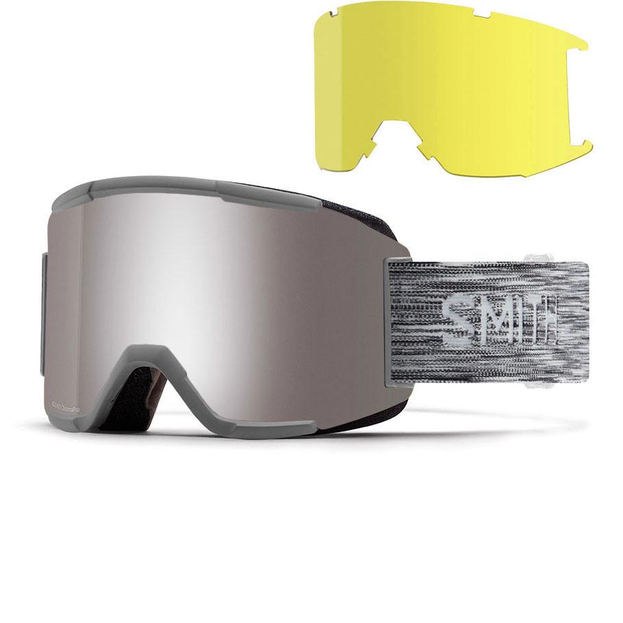 Okuliare Smith Squad cloud grey  49870c9437a