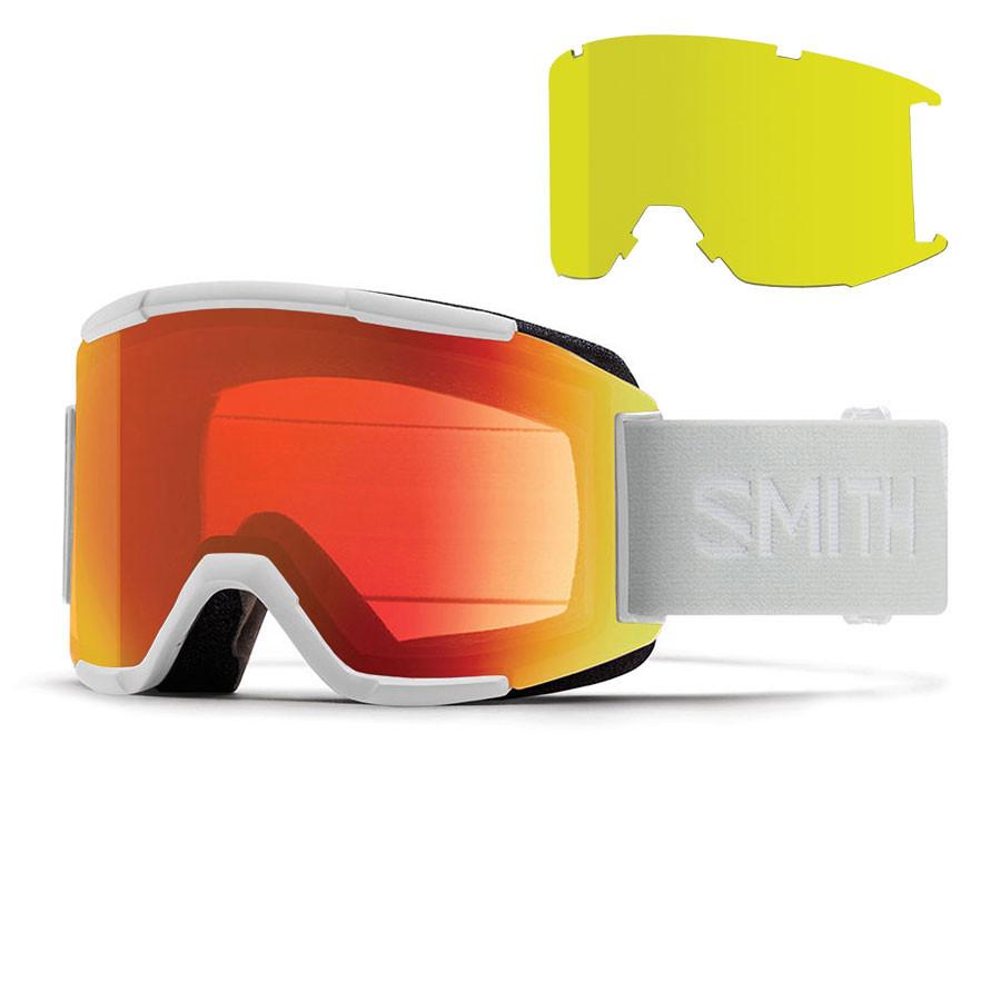 Okuliare Smith Squad white vapor  869a3c9b409