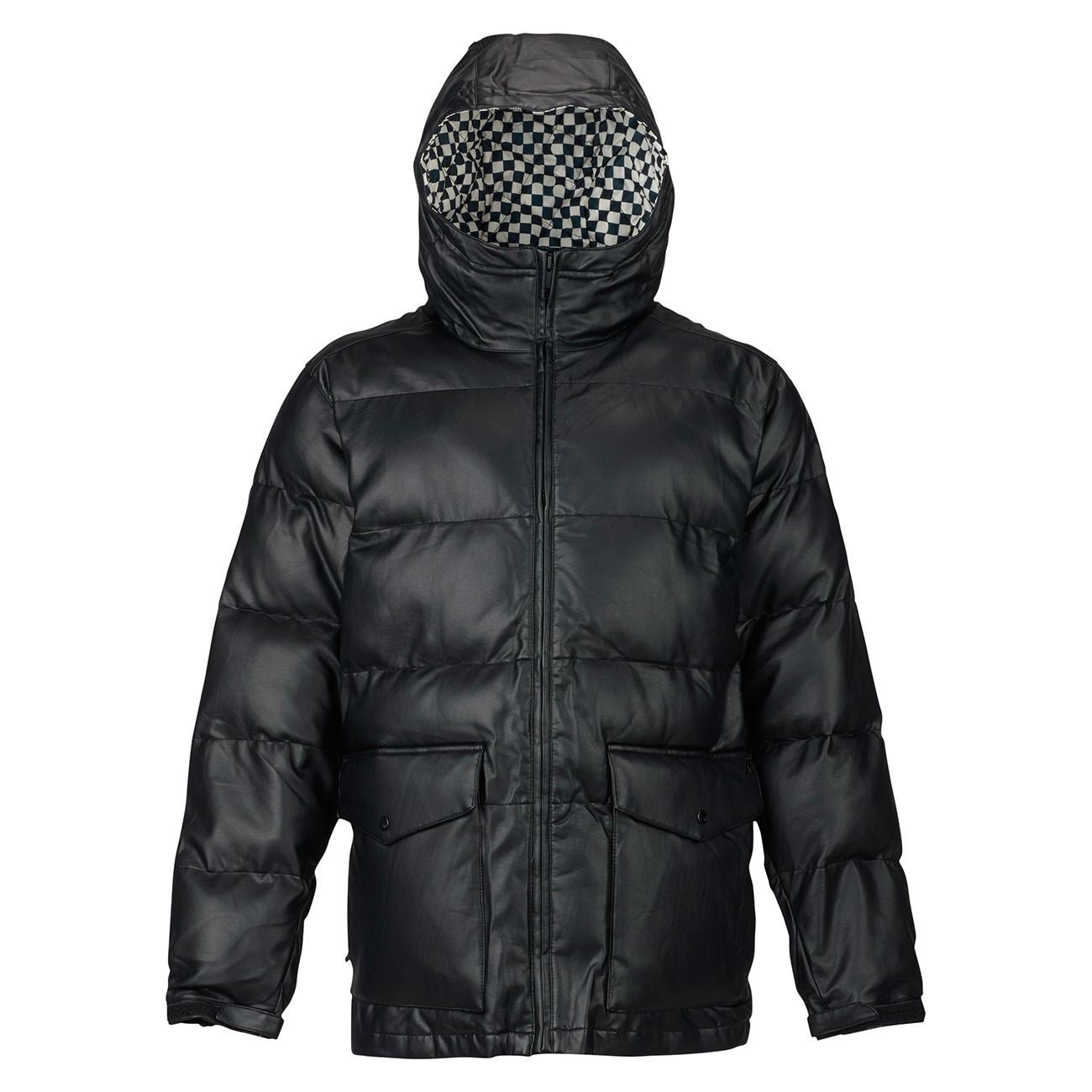 Bunda Analog Kilroy true black leather