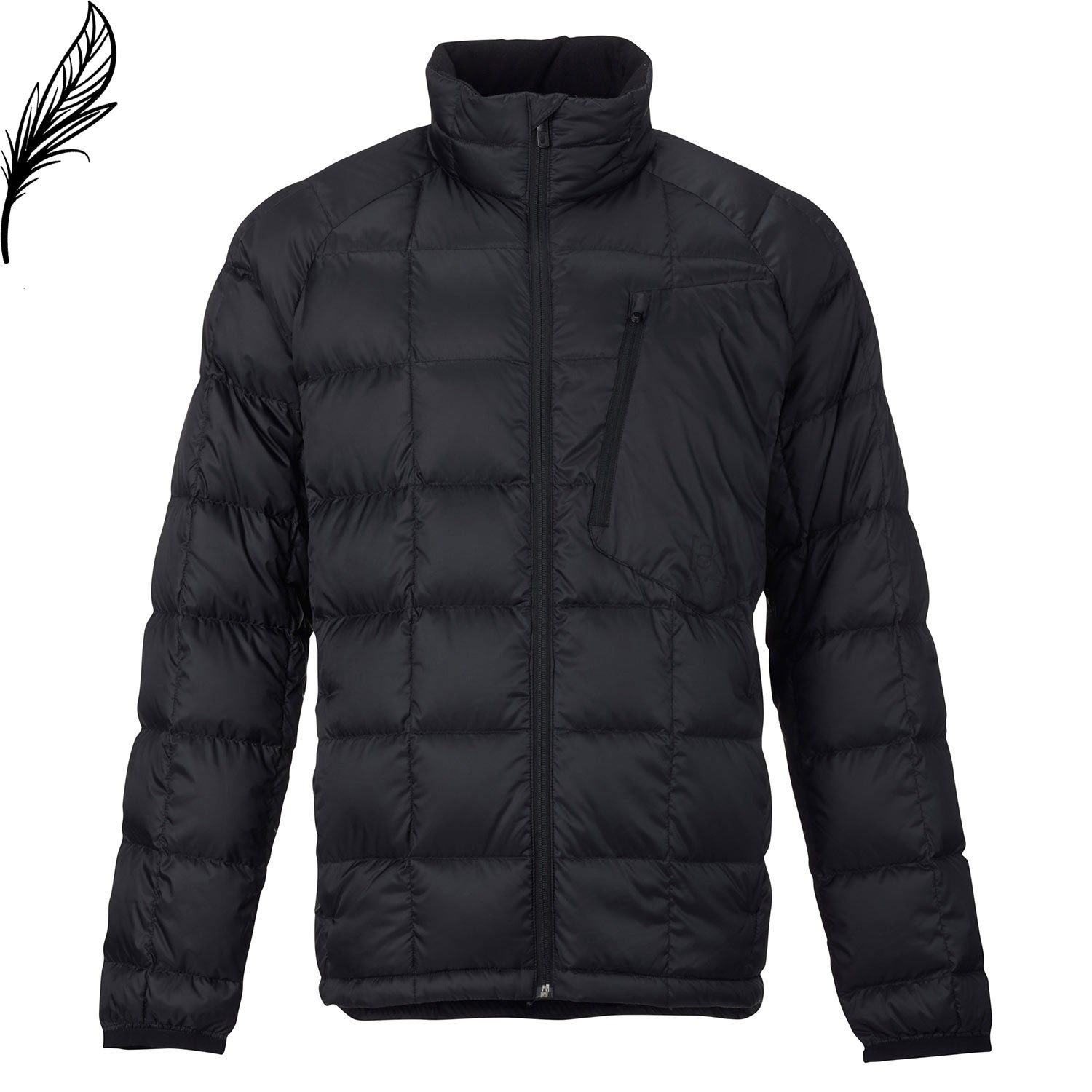 Bunda Burton Ak Bk Down Insulator true black