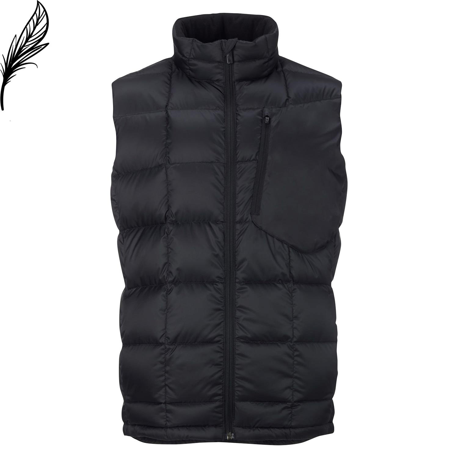 Bunda Burton Ak Bk Insulator Vest true black