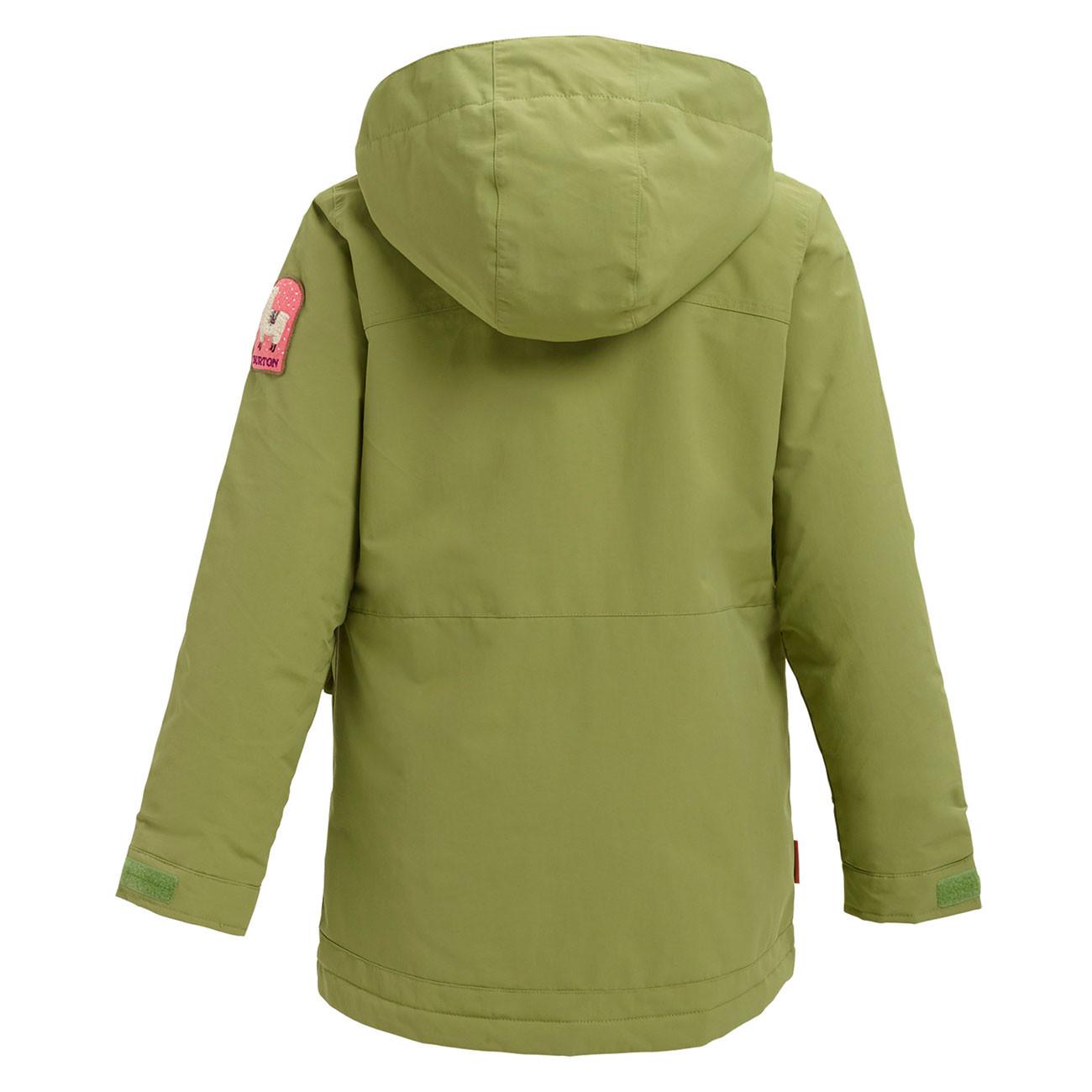 475193d5769d Jacket Burton Girls Elstar Parka mosstone   Snowboard Zezula